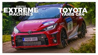 Toyota GR4 Yaris | Vanagas Extreme Machines | with EN subtitles