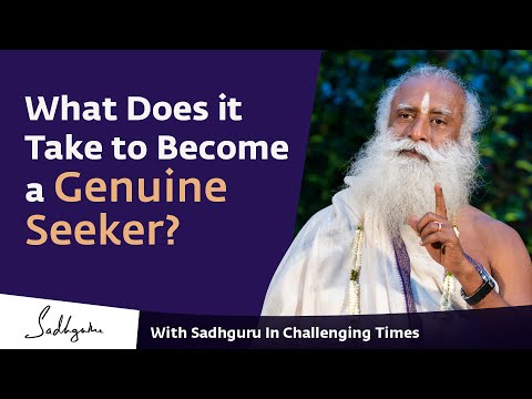 With Sadhguru In Challenging Times - 07 Apr 6:00 P.m IST