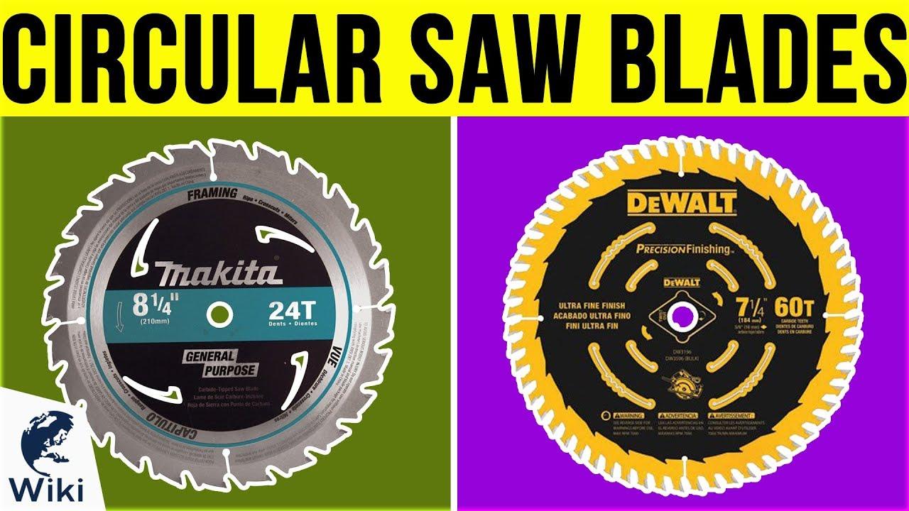 9 Best Circular Saw Blades 2019
