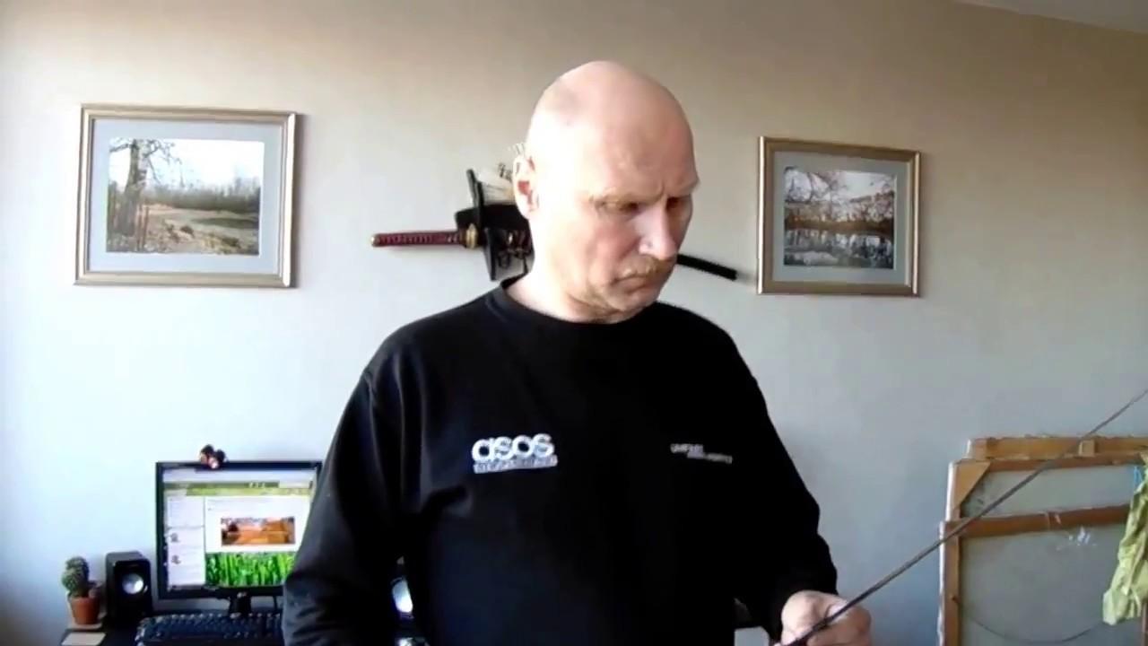 Испытание клинка шашки Златоуст - YouTube
