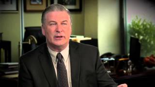 "Concussion: Alec Baldwin ""Dr. Julian Bailes"" Behind The Scenes Movie Interview"