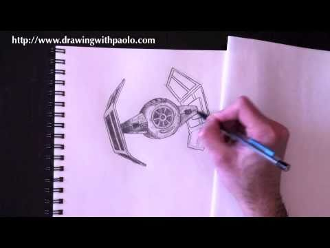 Drawing a Tie-Fighter with Paolo Morrone