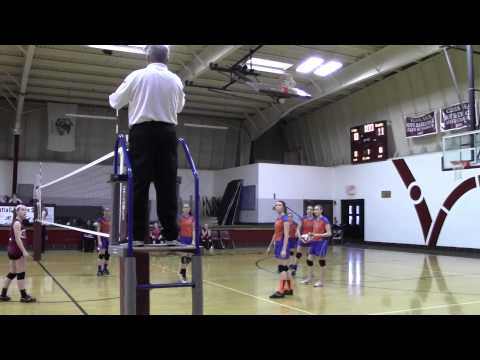 3/13/2014 Volleyball Regional Championship Nuttall Middle School vs. Jasper County - Set 1