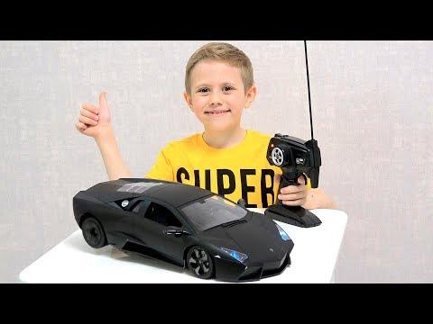 МАШИНКА Lamborghini Reventón на радиоуправлении. КРАШТЕСТ на прочность!