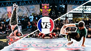 Red Bull BC One Cypher France 2019 | Semifinal B-Boy: Nasso vs. Mehdi