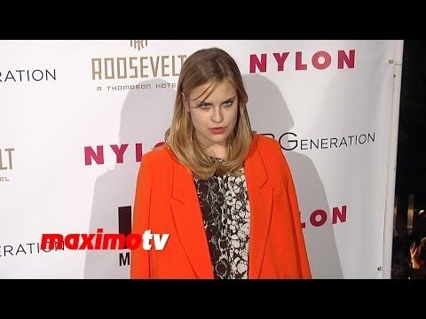 Tallulah Willis NYLON & BCBGeneration Young Hollywood Party Red Carpet