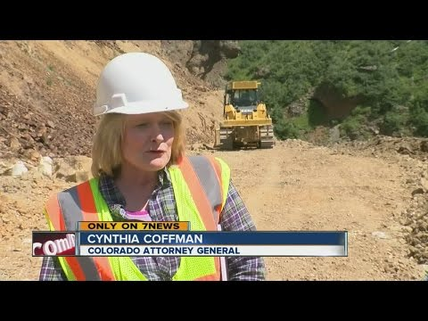 Tour Of Gold King Mine With Attorney General Cynthia Coffman