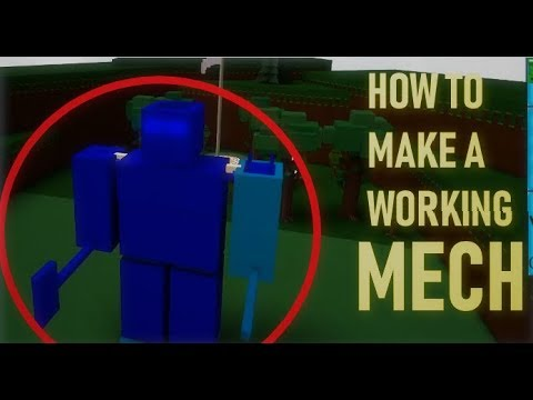 Roblox Mech Battles Build A Boat For Treasure Tutorial How To Make A Working Mech Special Attacks Roblox Build A Boat For Treasure Youtube