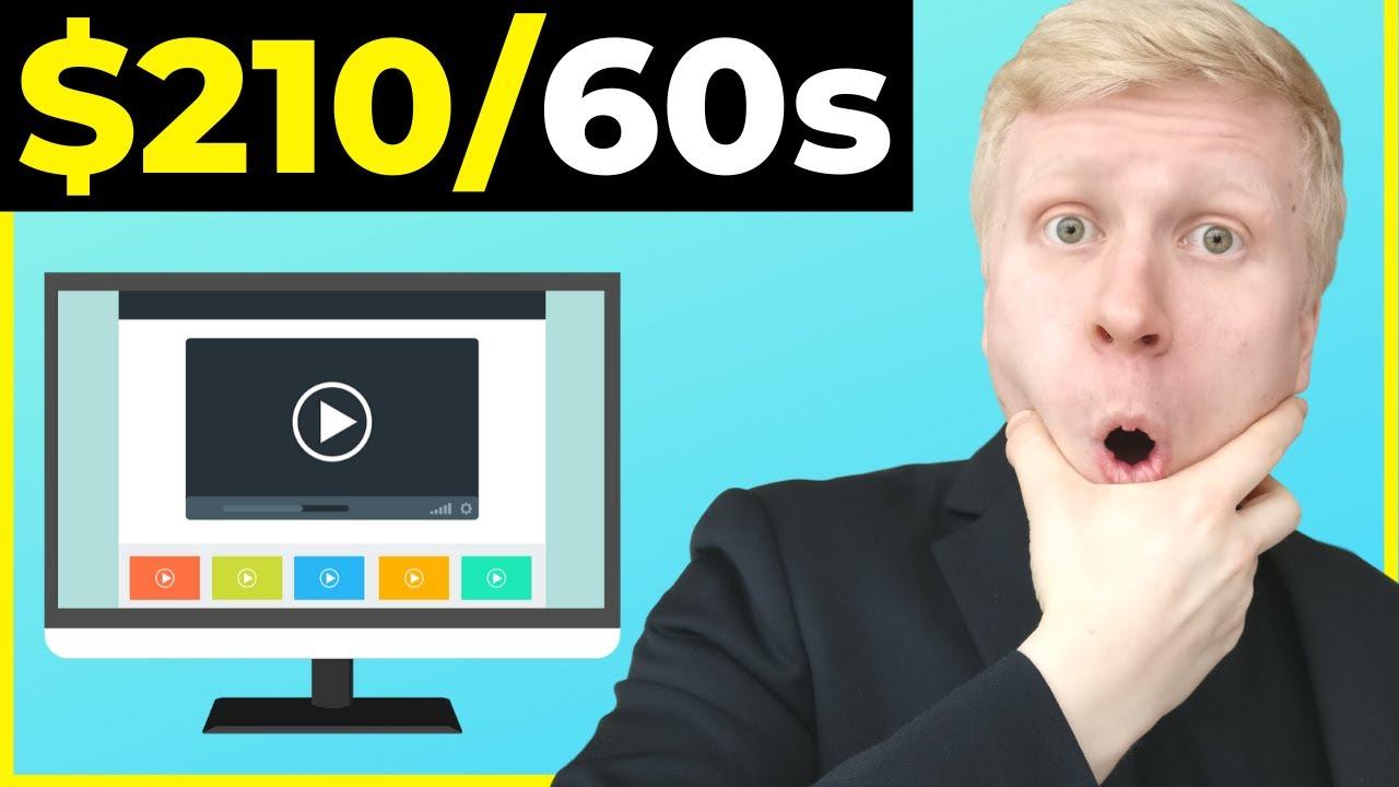 EARN $210 in 60 Seconds WATCHING VIDEOS ONLINE? Make Money Online Worldwide 2020 (TRUTH REVEALED!)