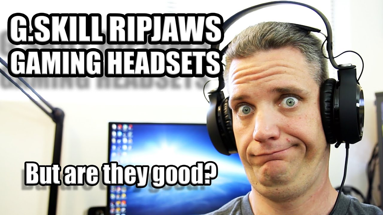 G.SKILL RIPJAWS SV710 GAMING HEADSET DRIVER FOR PC