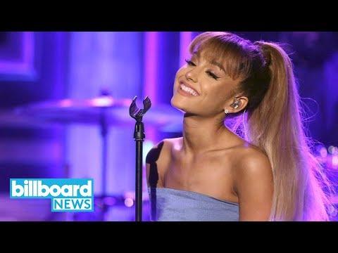 Ariana Grande Stays In Bed to Celebrate Best Pop Vocal Album Grammy for 'Sweetener'   Billboard News Mp3
