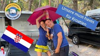 Unsere must-haves und Tipps für Kroatien #Kroatien 2021
