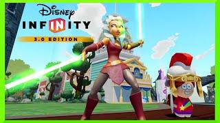 DISNEY Infinity 3.0 EP1 - TOY BOX GamePlay with STAR WARS AHSOKA