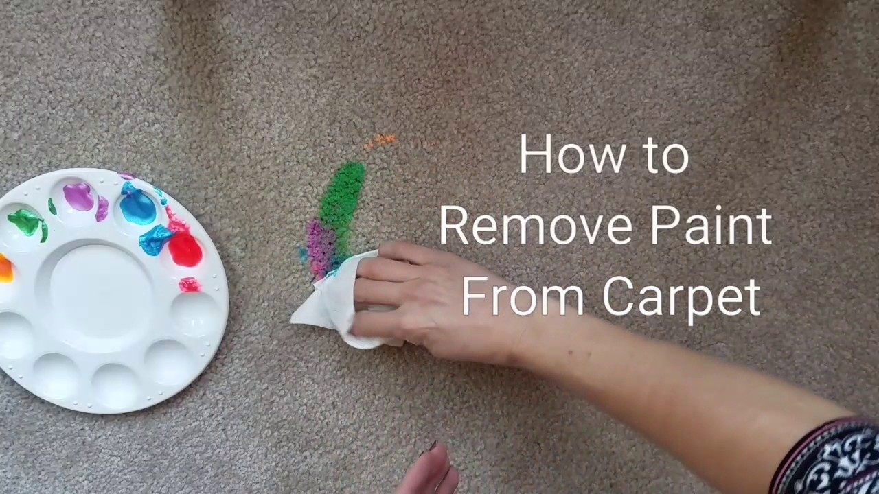 Face Paint Stain Removal Carpet