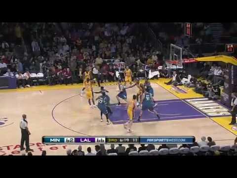 Darko Milicic @ Lakers (2009-10 NBA regular season)