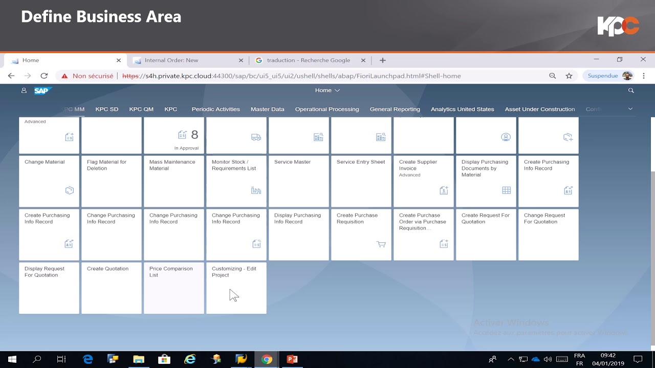 Fiori Youtube Sap.Gu Sap Fiori Define Business Area Youtube