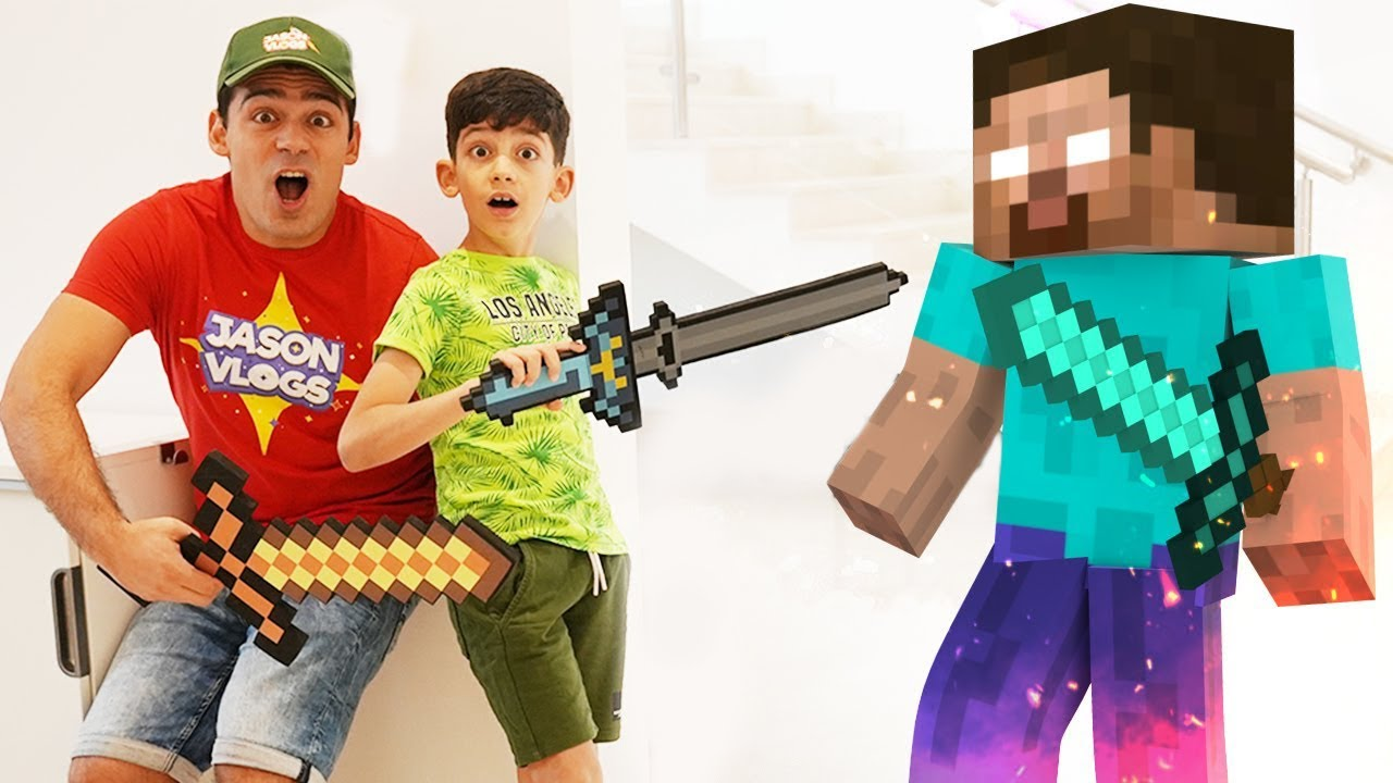 Jason and Minecraft in real life story