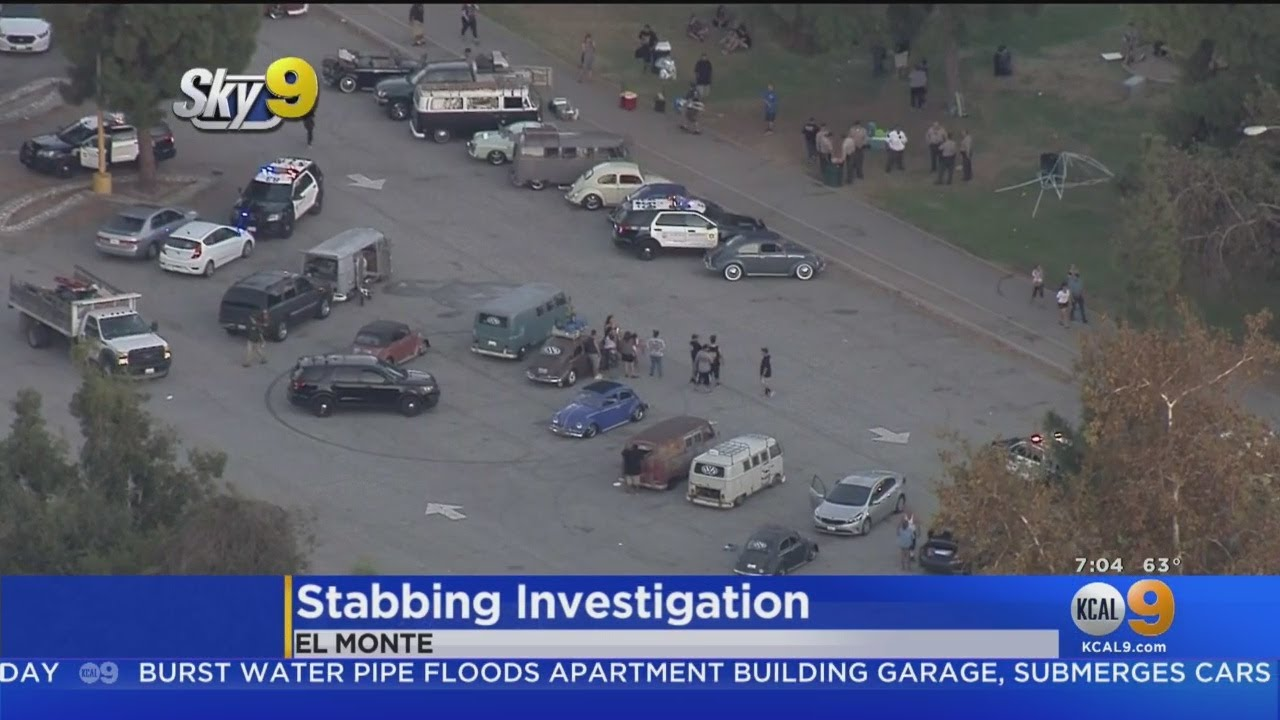 At Least 1 Person Stabbed At Car Show In El Monte
