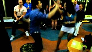 Видео: Serena Cuevas & Nery Garcia Salsa dancing at the ADC 2012 at 2am