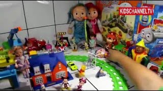 Disney Mickey Mouse – Donald Duck – Boboiboy – Masha – Candy – Train – Kids Toys
