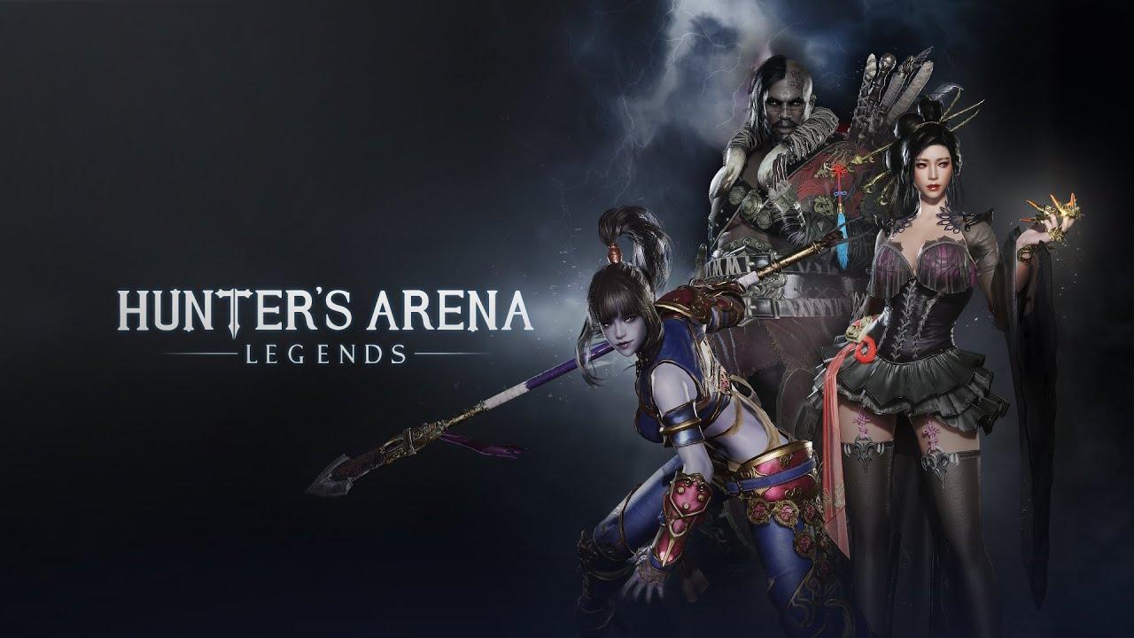 Hunter's Arena:Legends - 公式ゲームプレイトレーラー