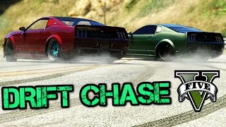 GTA V - DRIFT CHASE !