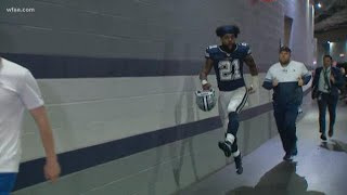 Cowboys running game dominates Rams