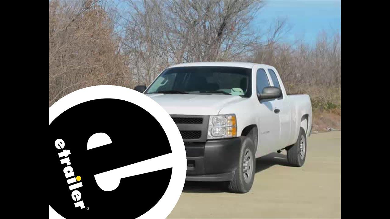 Floor mats silverado - Review Of The Weathertech Rear Floor Liner On A 2012 Chevrolet Silverado Etrailer Com Youtube
