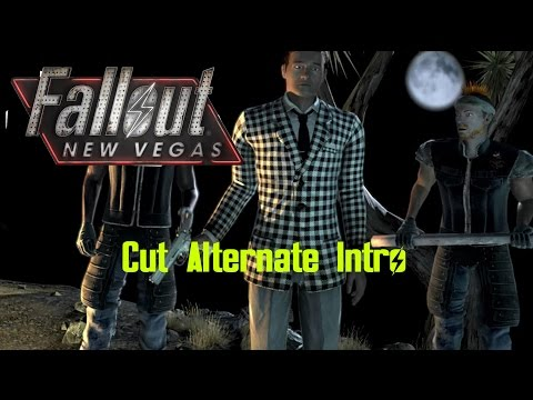 Fallout: New Vegas cut Alternate intro (Short and extended versions)