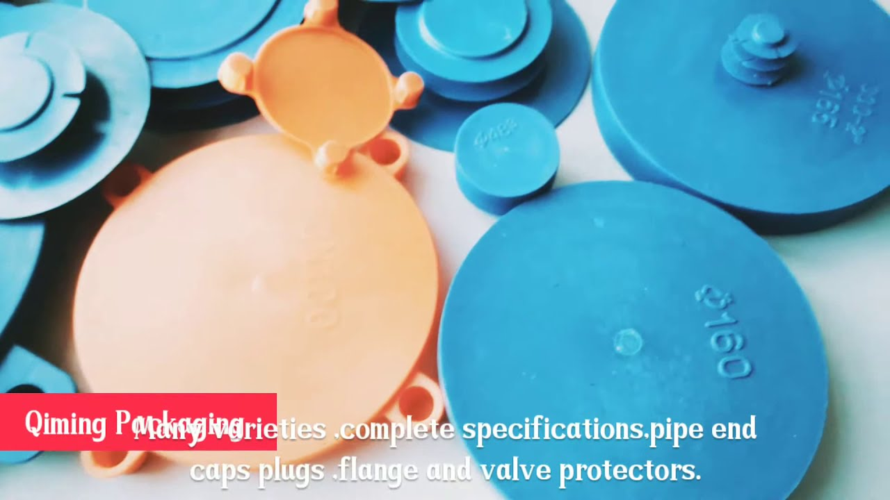 Pipe end cap flange valve protection plugs caps youtube