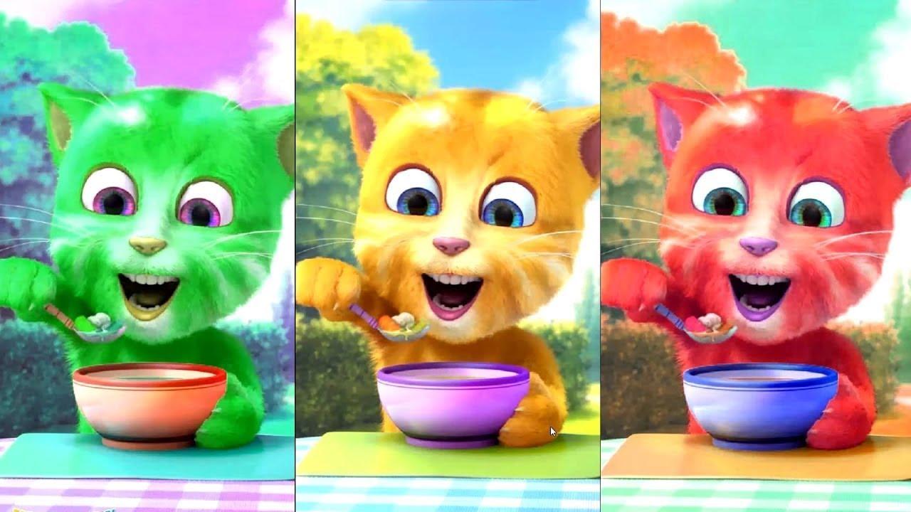 Game Talking Tom Cat online
