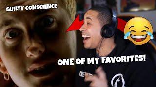 Eminem - Guilty Conscience (Official Music Video) Ft. Dr Dre (REACTION)