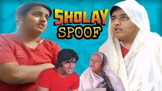 Sholay Movie Spoof | Amitabh Bachchan | Jai-Mausi Scene | -SHASHANK
