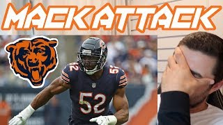 Rugby Fan Reacts to KHALIL MACK NFL Football Career Highlights!