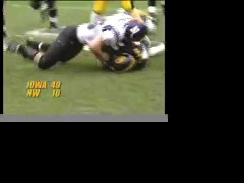 2002 Iowa Offense Highlights & Dallas Clark Tribute