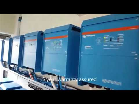 victron - 180kva solar project  in Ghana