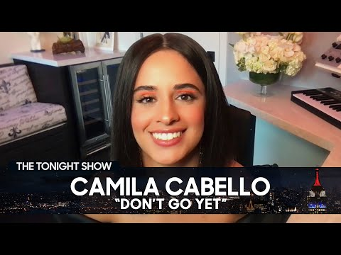 """Download Camila Cabello's Puppy Inspired Her New Song """"Don't Go Yet""""   The Tonight Show Starring Jimmy Fallon"""