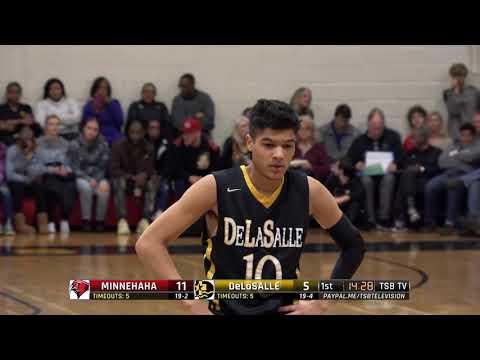 High School Boys Basketball: Minnehaha Academy vs. DeLaSalle