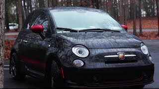 Fiat 500 Abarth Review!-The Little Car That Could(, 2015-01-05T23:00:10.000Z)