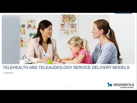 Tele-Health And Tele-Audiology Delivery Service Models