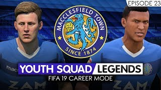 FIFA 19 CAREER MODE (Ep 23) | Macclesfield RTG | Youth Academy [YOUTH SQUAD LEGENDS] - EMPEROR!!!