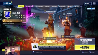 Fortnitemares Challenges (Partie 4) -Non-Pro Player Gameplay Fortnite (Profanity Free)
