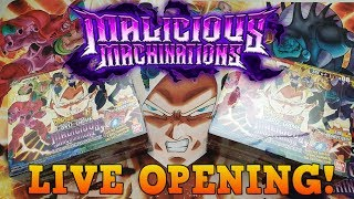 Opening Series 8 MALICIOUS MACHINATIONS! Dragon Ball Super Card Game