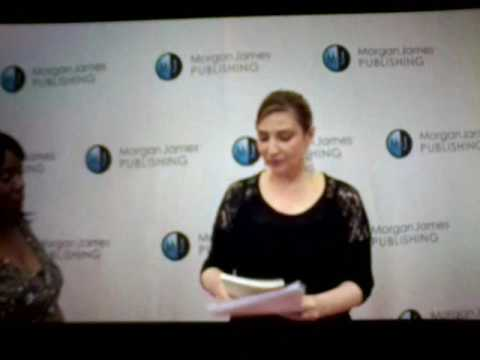 My interview at the Morgan James Publishing Winter 2017 Red Carpet Event