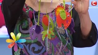 видео Как сделать стильный мобиль на кроватку своими руками