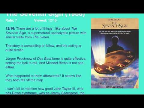 Movie Review: The Seventh Sign (1988) [HD]