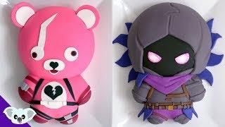 FORTNITE CAKES! | Raven & Cuddle Team Leader | Koalipops
