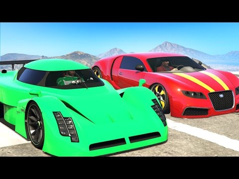 WHICH SUPER CAR IS FASTER? (GTA 5 Funny...