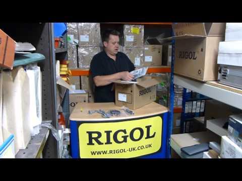 """""""What's in the Box"""": DS1074Z-S RIGOL Digital Oscilloscope"""