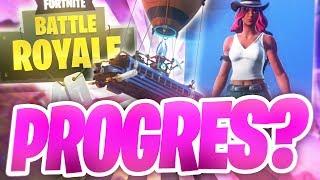 Fortnite Battle Royale (PL) odc.2- Progres ?